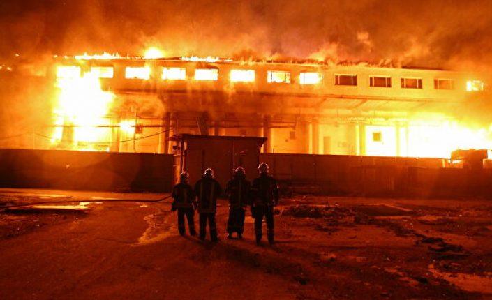 О.Антосенко: Почти 50 пожаров произошло на строительных объектах в Москве в 2020 году