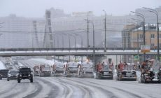 От снега очистили большую часть территории Москвы