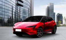 Появились первые изображения недорогого электромобиля Tesla