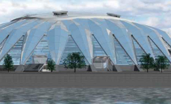 Реконструкцию спортзала «Дружба» в Лужниках завершат вэтом году