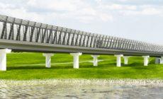 Андрей Бочкарёв: завершается возведение основных конструкций метромоста через реку Ликова на строящемся участке метро до «Внуково»