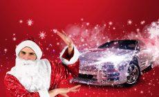 Бесплатное новогоднее такси по Ростову-на-Дону от Automama! Прокатитесь на Новый год в зеркальном кабриолете!