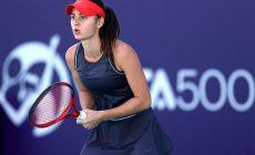 Анастасия Гасанова – сенсация первого турнира сезона. Внезапно прорвалась в сетку и разбила №6 в мире